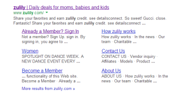 zulily capture